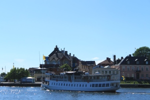 Boat to Vaxholm